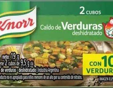 KNORR caldo verdura x2Un