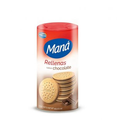 ARCOR galletas mana vainilla chocolate x165g