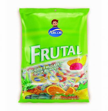 ARCOR caram. gajitos frutales x485g