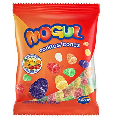 ARCOR mogul conitos frutales x1kg