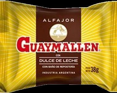 GUAYMALLEN alfajor chocolate x38g