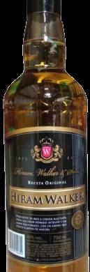H.WALKER whisky etiqueta negra x750cc