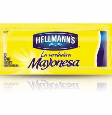 HELLMANN'S mayonesa porcion x8g.