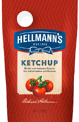 HELLMANNS ketchup doypackx250g