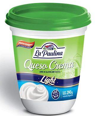 PAULINA queso crema light x290g