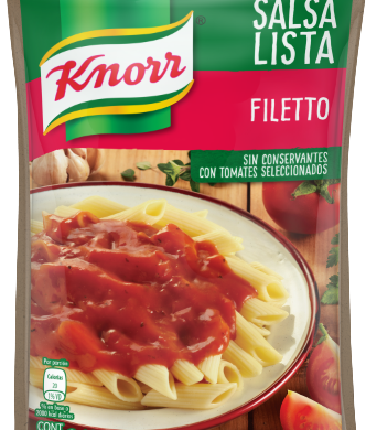 KNORR salsa filetto doypack x340g