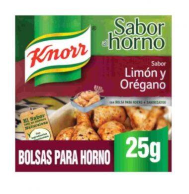 KNORR sazon c/limon y especias x21g