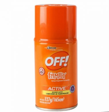 OFF repelente aerosol  x165cc