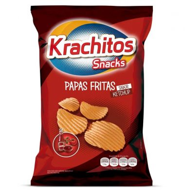 KRACHITOS papas fritas ketchup x65g.