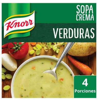 KNORR sopa crema verduras