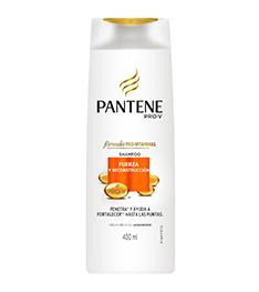 PANTENE shampoo fuerza reconstructora x400cc.