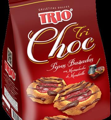 TRIO galletita trichocolate x180g