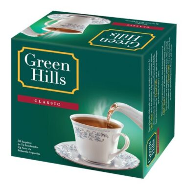 GREEN HILLS te x50 saquitos