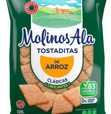 MOLINOS ALA tostadita clasicas x120Gra