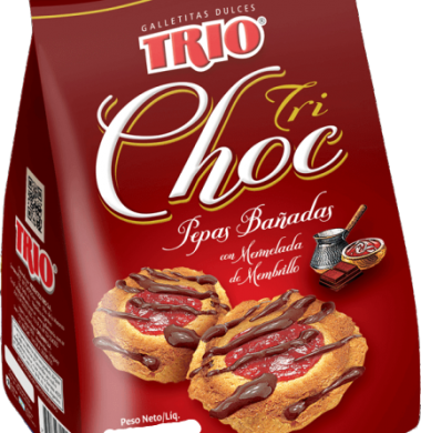TRIO galletita trichocolate x500g