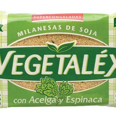 VEGETALEX milanesas de soja con espinaca x4u