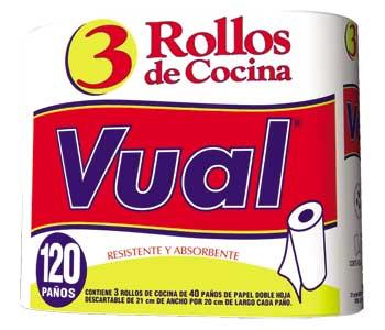 VUAL rollo cocina 40x3u.