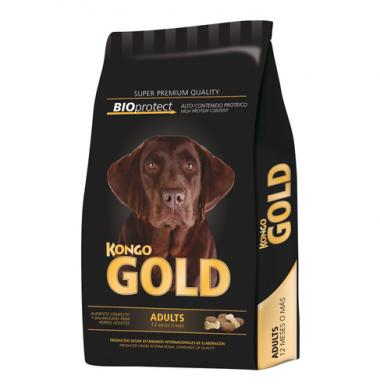 KONGO GOLD perro adulto x8kg