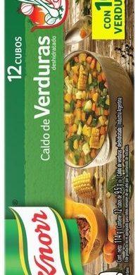 KNORR caldo verdura x12Un.