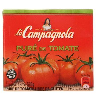CAMPAGNOLA pure tomate x520g