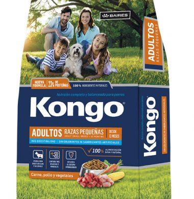 KONGO alimento perro pequeño x8kg
