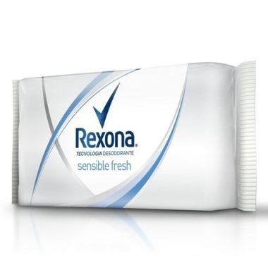 REXONA  Jabon de tocador sensitive freshx125g