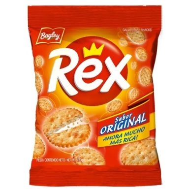 BAGLEY galletas rex original bolsa x75g