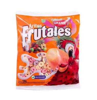 GRANIX cereal aritos frutales x130g