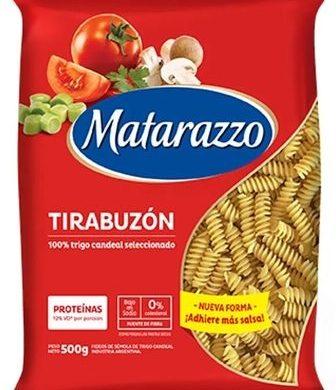 MATARAZZO fideos tirabuzon x500g