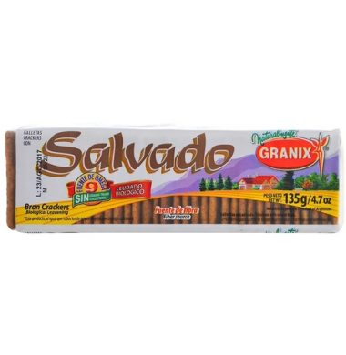 GRANIX galletitas salvado x135g