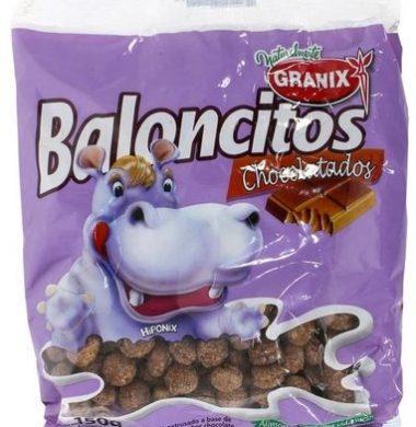 GRANIX cereal baloncitos chocolate x150g