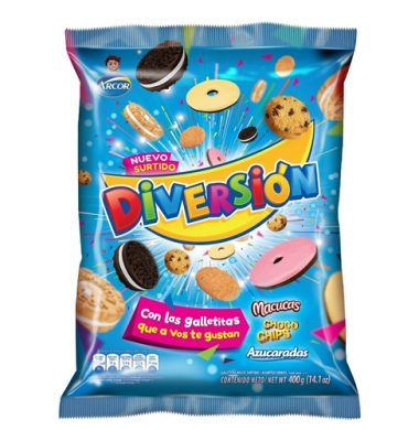 ARCOR galletas diversion x400g