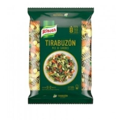 KNORR fideos tricolor tirabuzon x500g