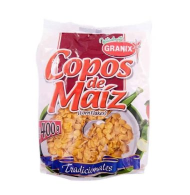 GRANIX copos maiz x400g