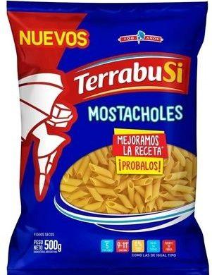 TERRABUSI fideos mostachol x500g