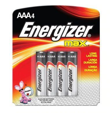 ENERGIZER pilas AAA E92 x4u