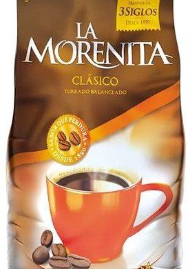 LA MORENITA cafe torrado intenso x250g