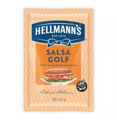 HELLMANNS salsa golf sachet x125g