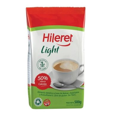 HILERET azucar light x500g
