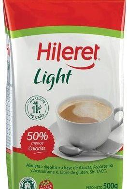 HILERET azucar light x500g