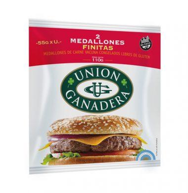 UNION GANADERA hamburguesa finita 2u.x55g.