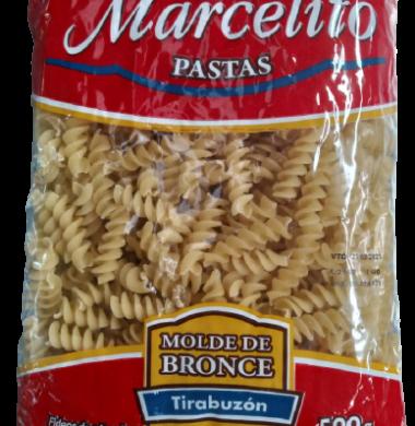MARCELITO fideos tirabuzon x500g