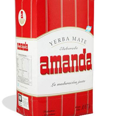 AMANDA yerba 4 laminas x1kg
