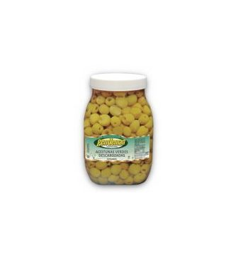 GENTLEMAN aceitunas verdes descarozadas x3kg