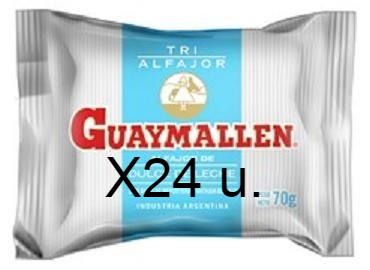 GUAYMALLEN alfajor triple dulce de leche x70g