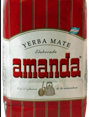 AMANDA yerba 4 laminas x500g