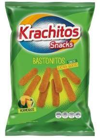 KRACHITOS bastonitos ex/queso x300g
