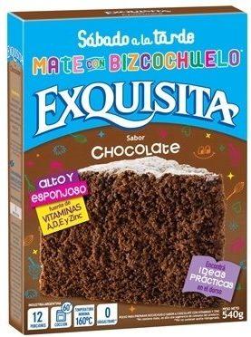 EXQUISITA bizcoc. chocolate x540g