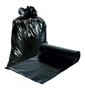 LA NEGRA bolsa residuos 45x60cm.