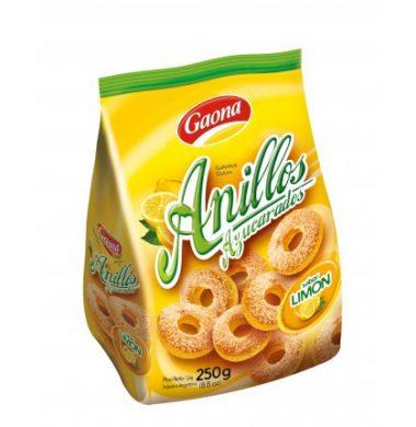 GAONA galletas anillos limon x250g